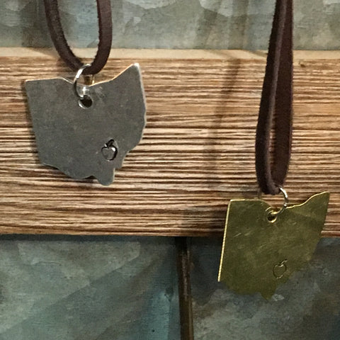 Metal OHIO Necklaces