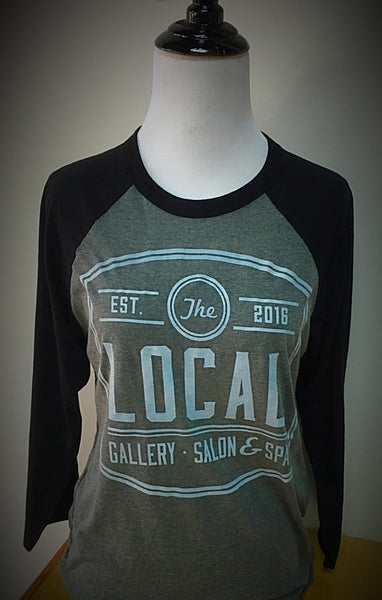 LOCAL Gallery Bella + Canvas 3/4 Sleeve Raglan Shirt