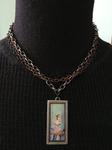 Salutations Necklace-short