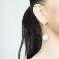 Historie Gold Earrings