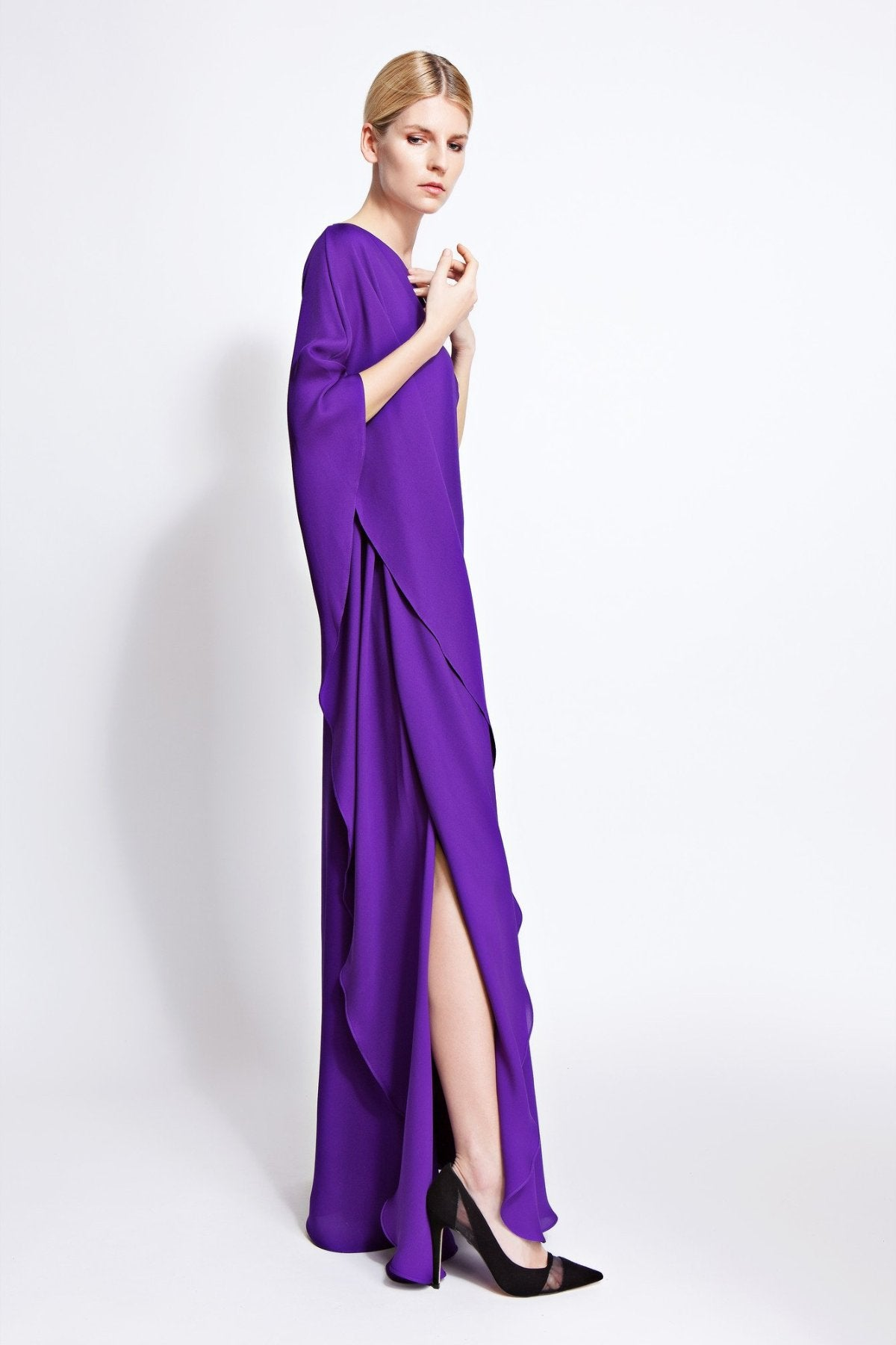 Cara One-Shoulder Gown