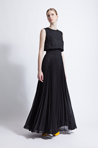 e193400f335 Iris Pleated Maxi Dress