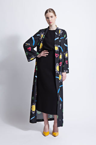 Ashley Print Abaya