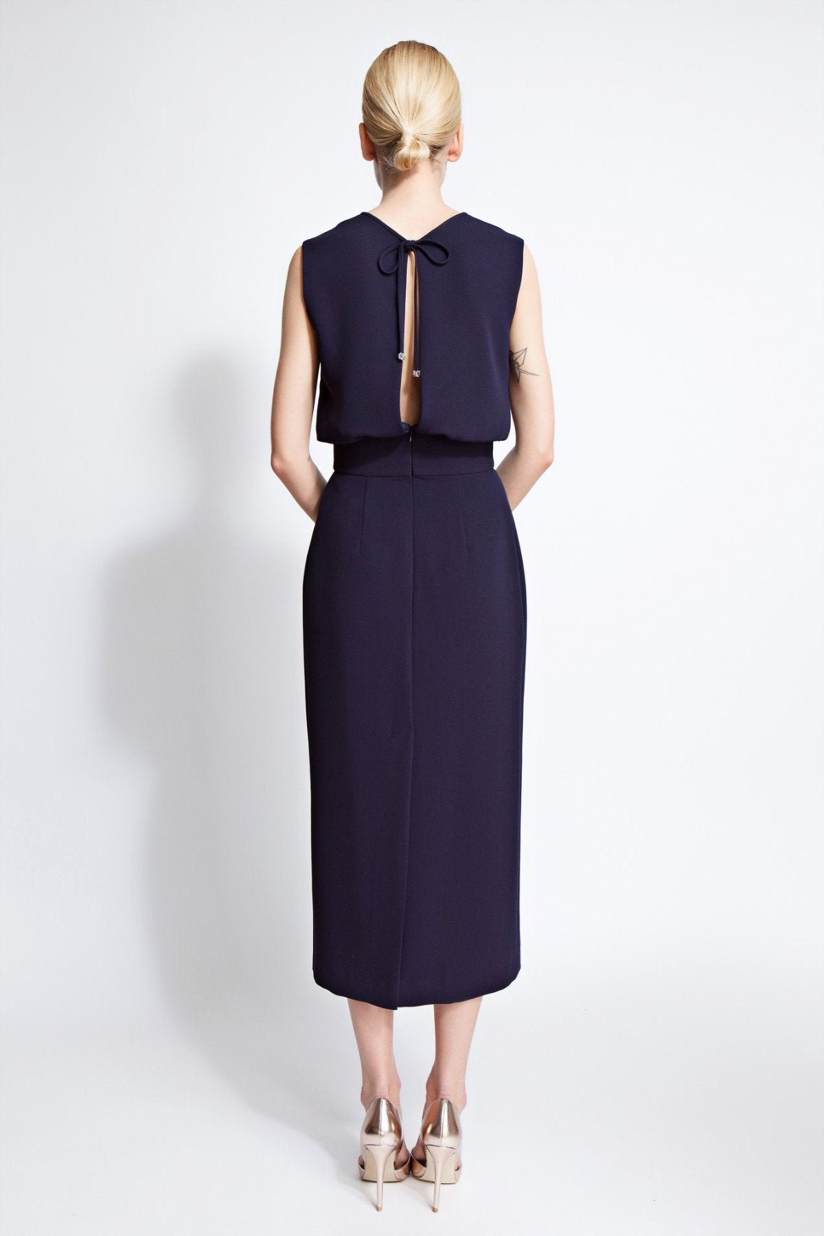 Harper Column Midi Dress