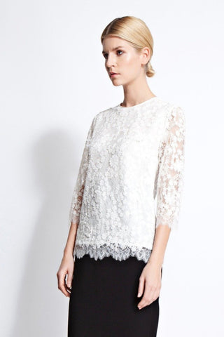 Lily Lace Embroidered Blouse