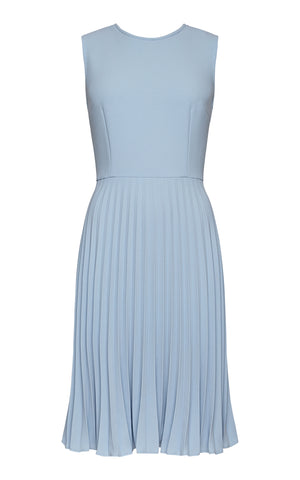 Chloe Sleeveless Pleated Dress