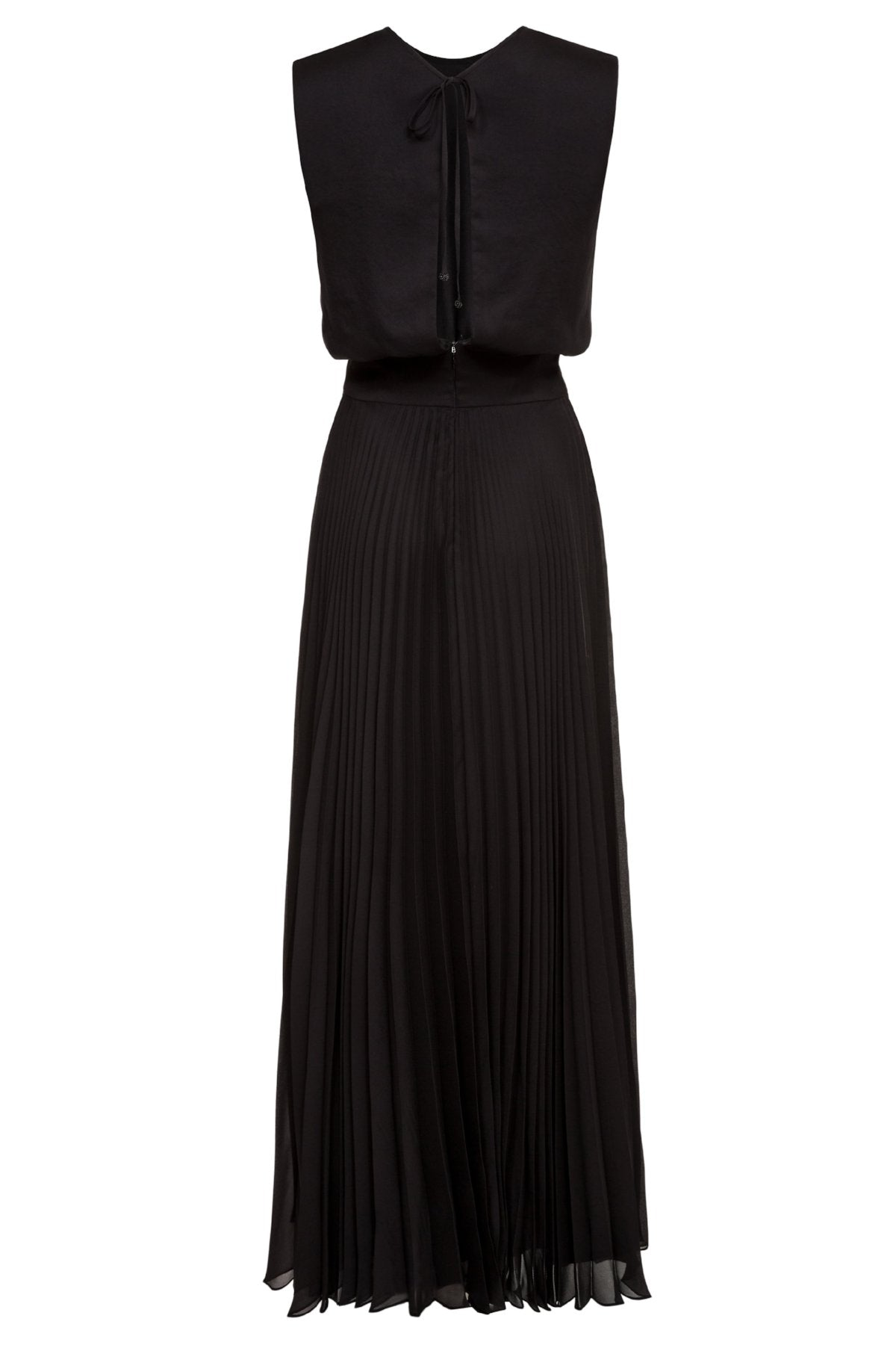 Iris Pleated Maxi Dress