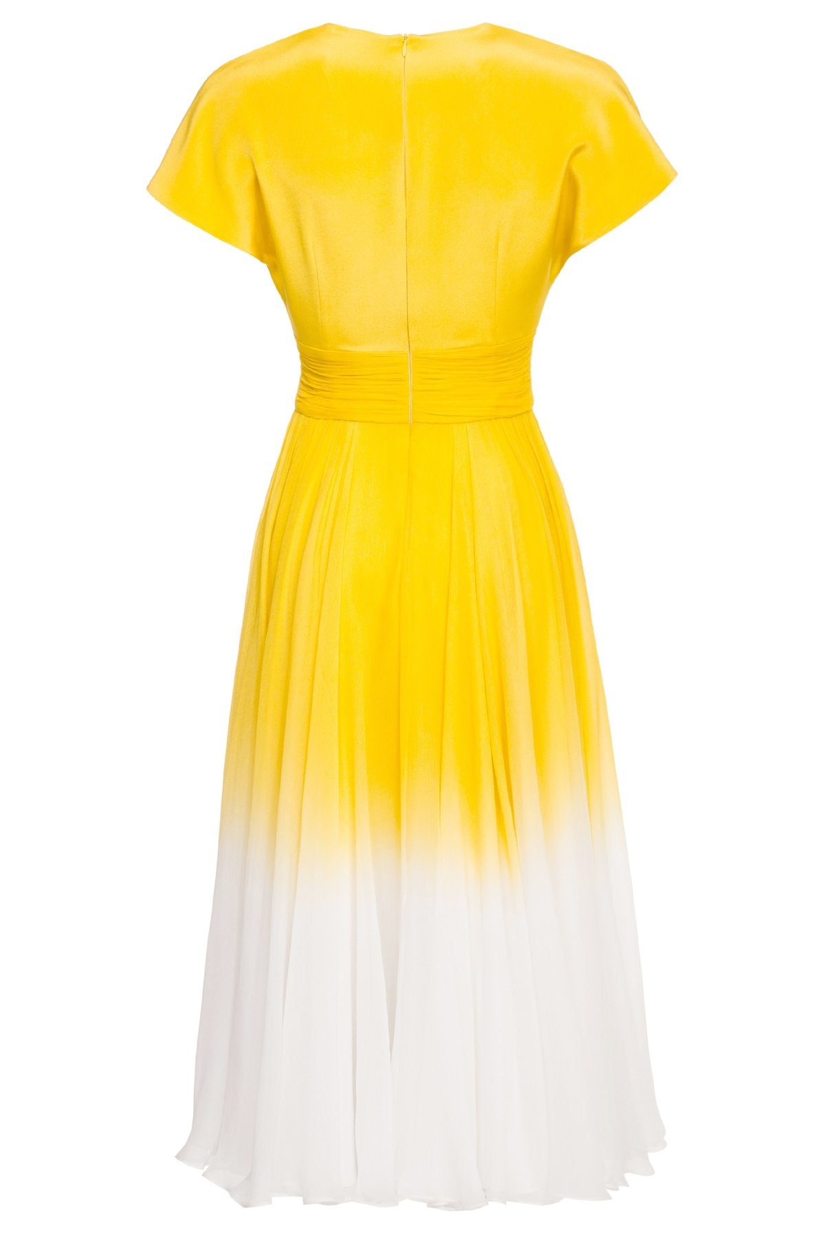 Letizia Ombré Silk Dress