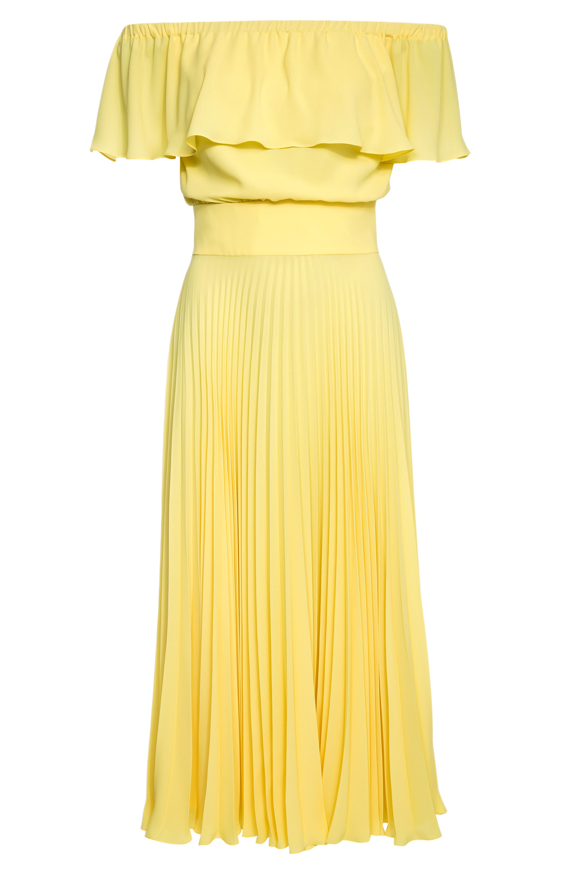 Shereen Pleated Midi Dress