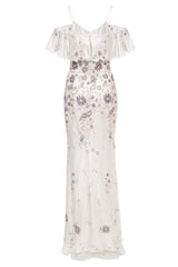 Flora Embroidered Gown
