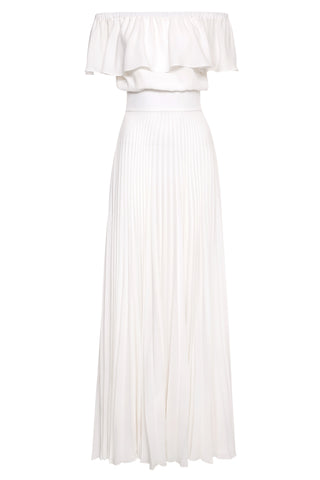 Shereen Pleated Maxi Dress