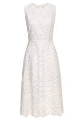 Emma Embroidered Tulle Dress
