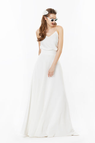 Marlow Gown with Straps
