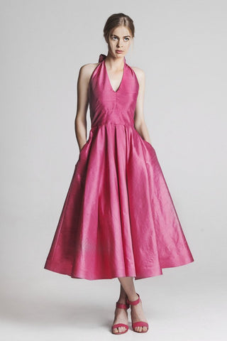 The Cannes Dress Magenta Pink