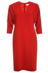Stina Dolman Sleeve Dress with Side Pockets