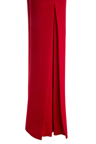 Sienna Flared Pants with Side Pleats