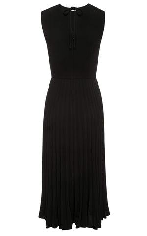 Chloe Sleeveless Pleated Midi Dress