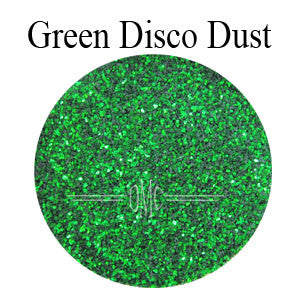 Christmas Green Disco Dust