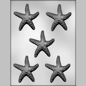 Starfish Chocolate Mold