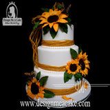 Sunflower Veining Kit and Center