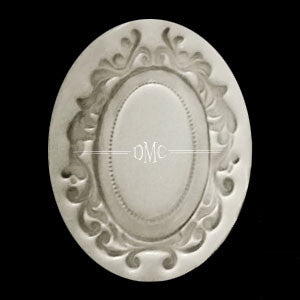 Oval Scroll Frame-