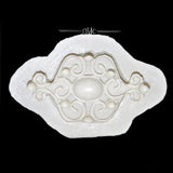 Scroll Medallion Mold
