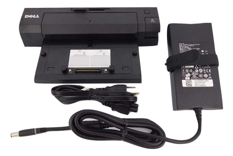 Dell Latitude E-Port Plus Replicator PR02X With 130W PA-4E AC Adapter (Renewed)