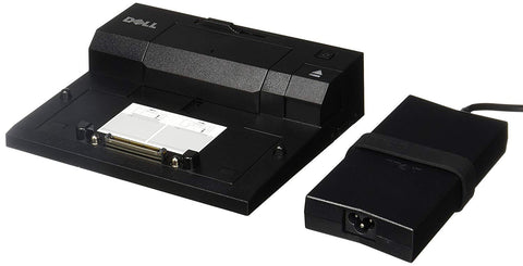Dell PR03X E-Port Replicator with USB 3.0 and 130W Power Adapter (Renewed)