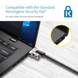 Kensington MicroSaver 2.0 Keyed Twin Cable Lock for Laptops & Other Devices (K65048WW)