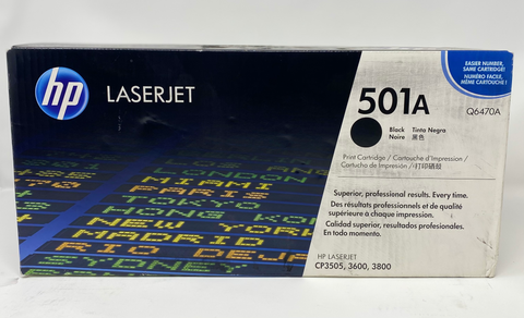 HP 501A | Q6470A | Print Cartridge | Black