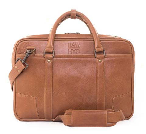 RawHyd Leather Briefcase