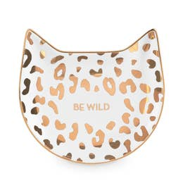 White Leopard Tea Tray