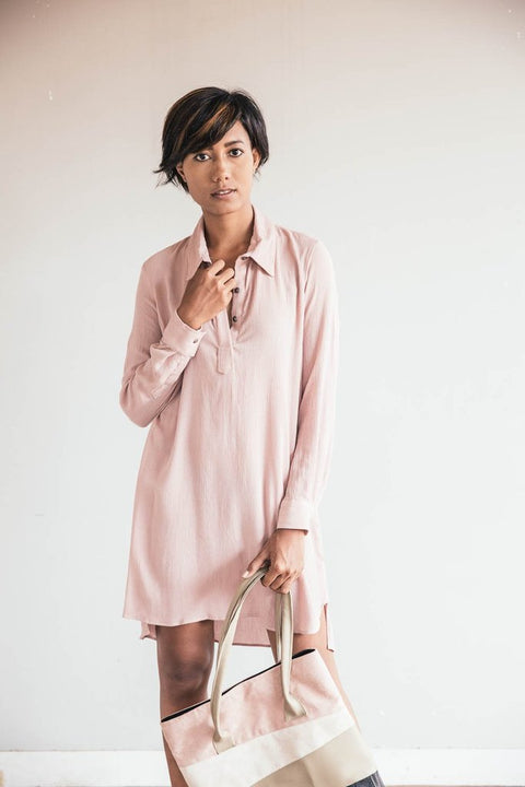 Tonle Rachana Tunic Dusty Rose