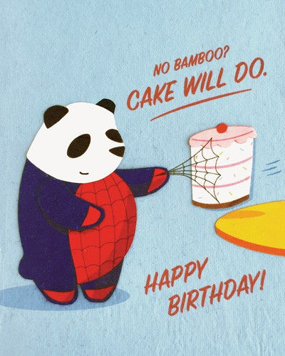 Good Paper Spidey Panda Birthday
