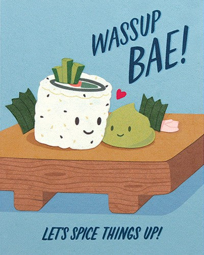 Good Paper Wasabi Love