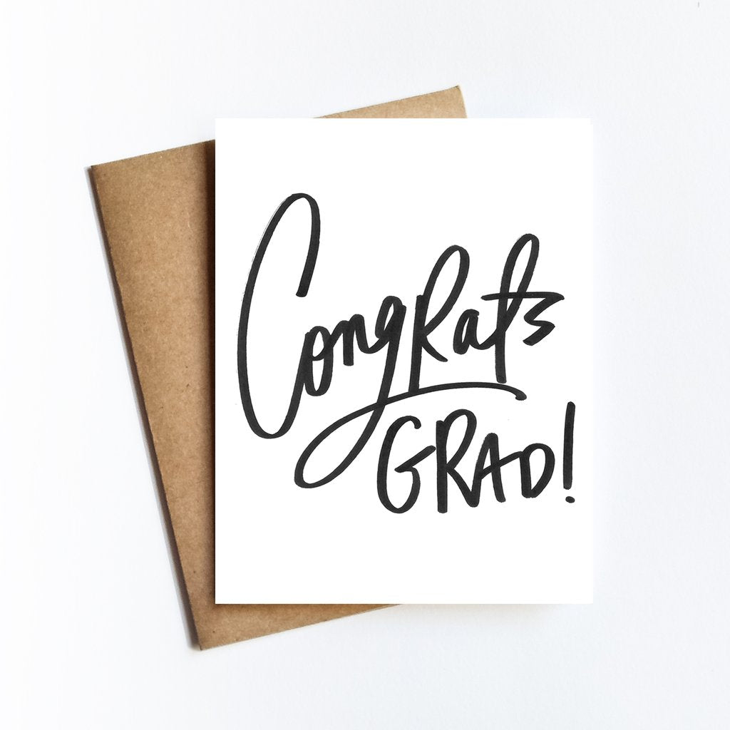 Congrats Grad Greeting Card