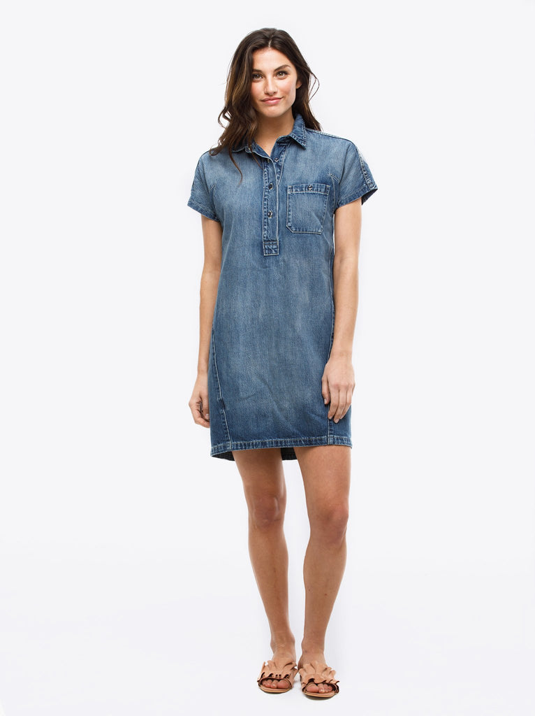 ABLE Denim Tunic - Maria Wash