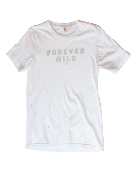 Forever Wild Distressed Tee
