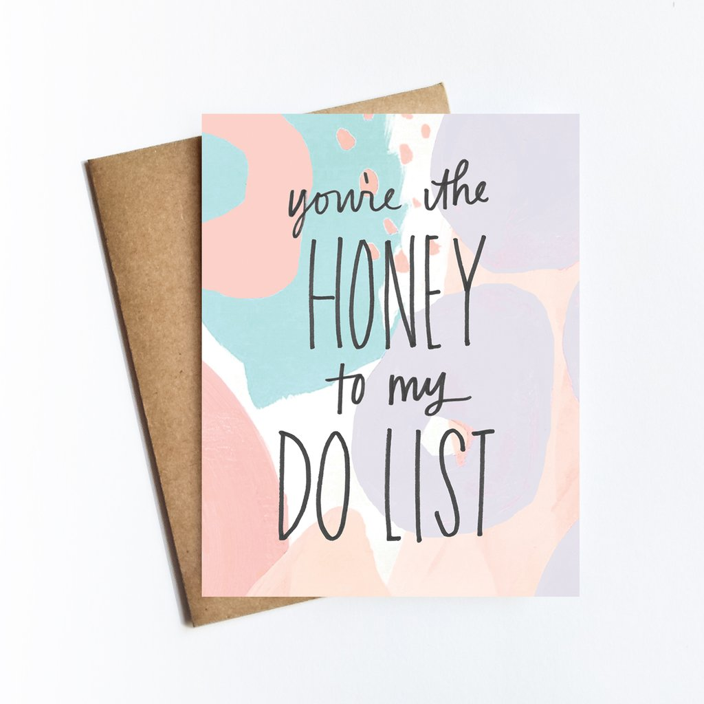 Honey Do List Greeting Card