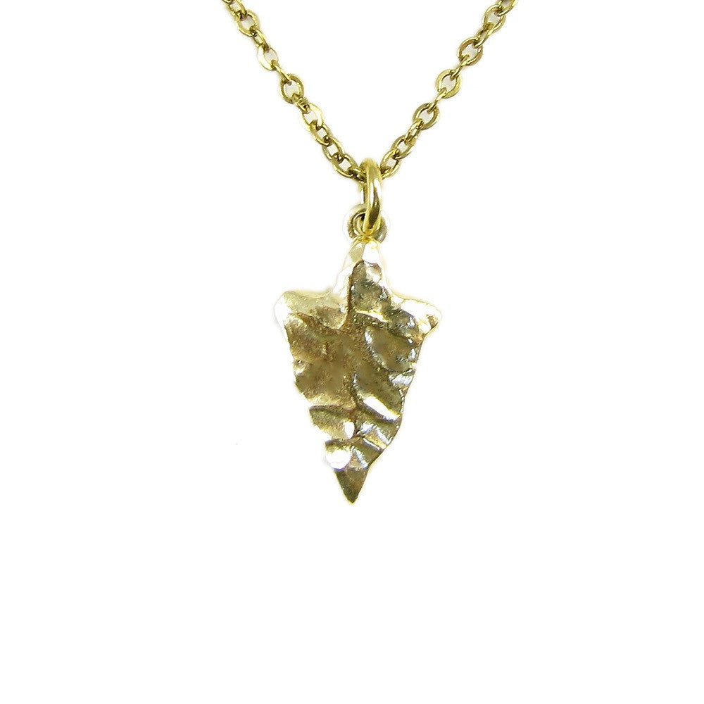 Ornamental Things Little Arrowhead Necklace