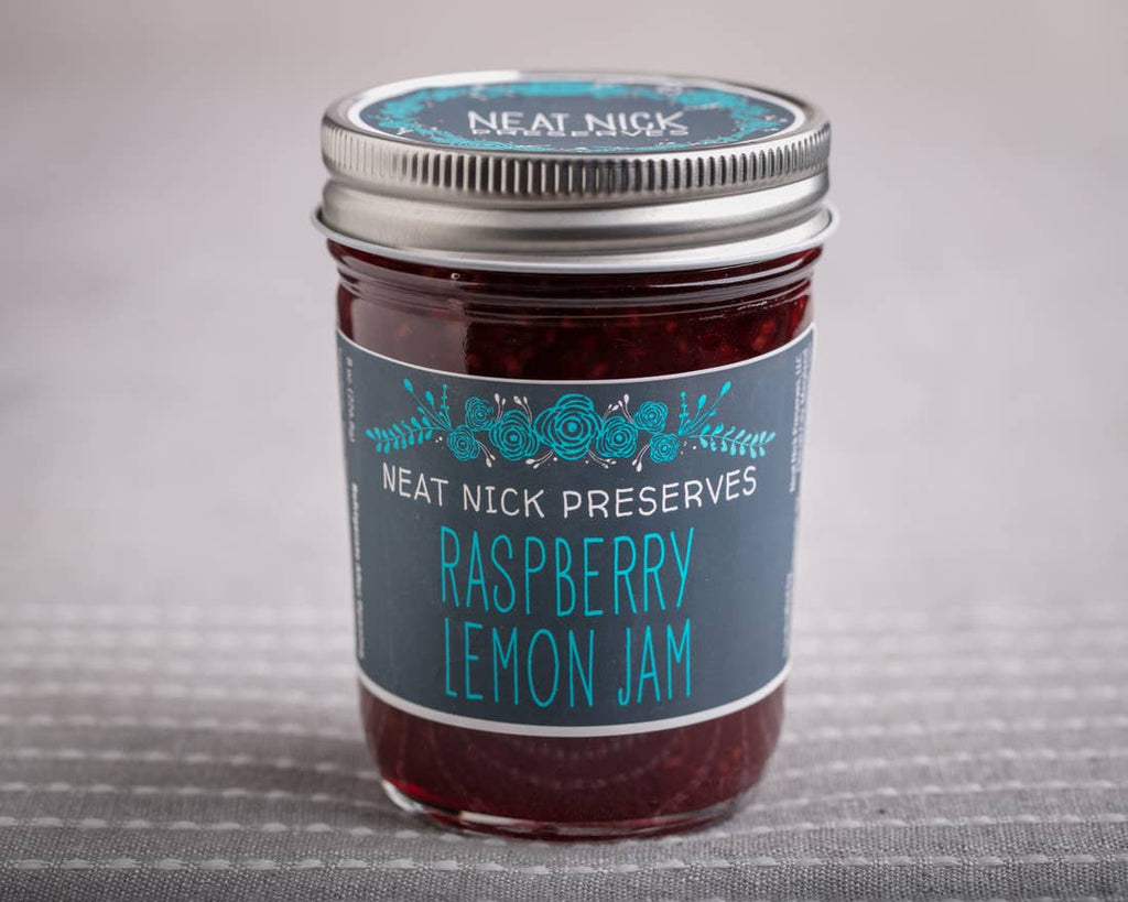 Raspberry Lemon Jam