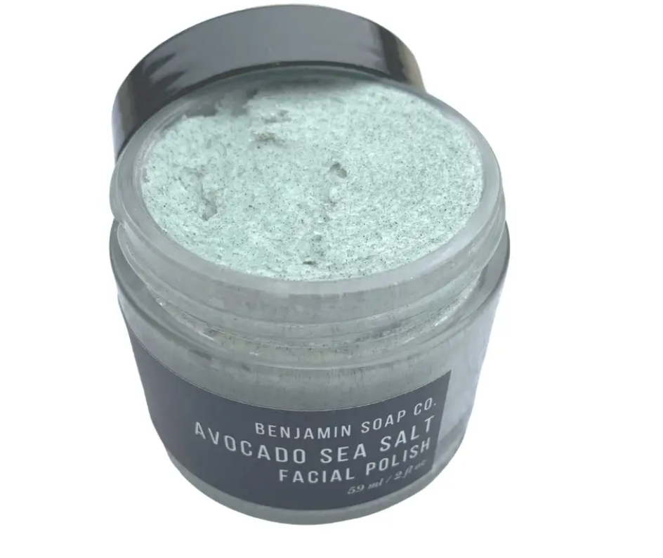 Avocado Sea Salt Facial Polish