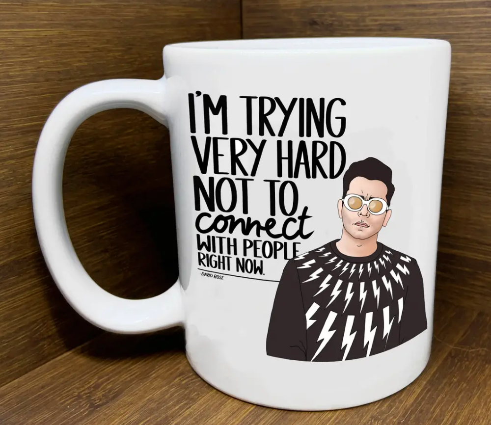 Schitt's Creek David Connect Mug