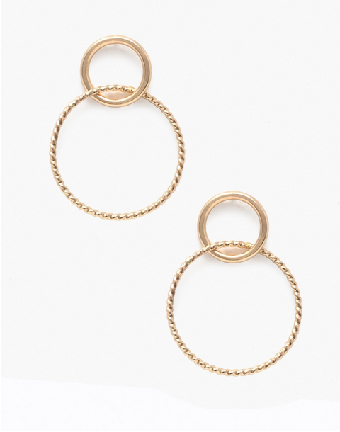 ABLE Gold-Fill Virgil Earrings