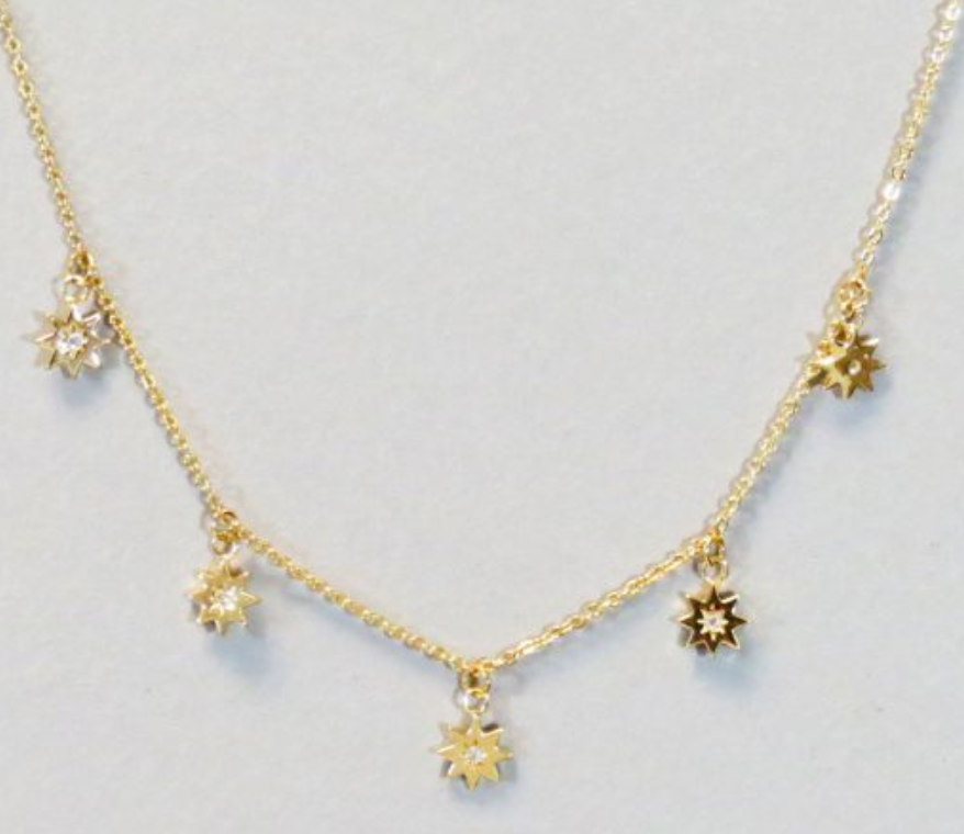 Small Star Dainty Necklace