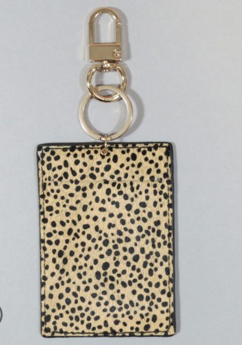 Cheetah Card Holder