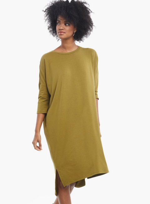 ABLE Veda Midi Dress
