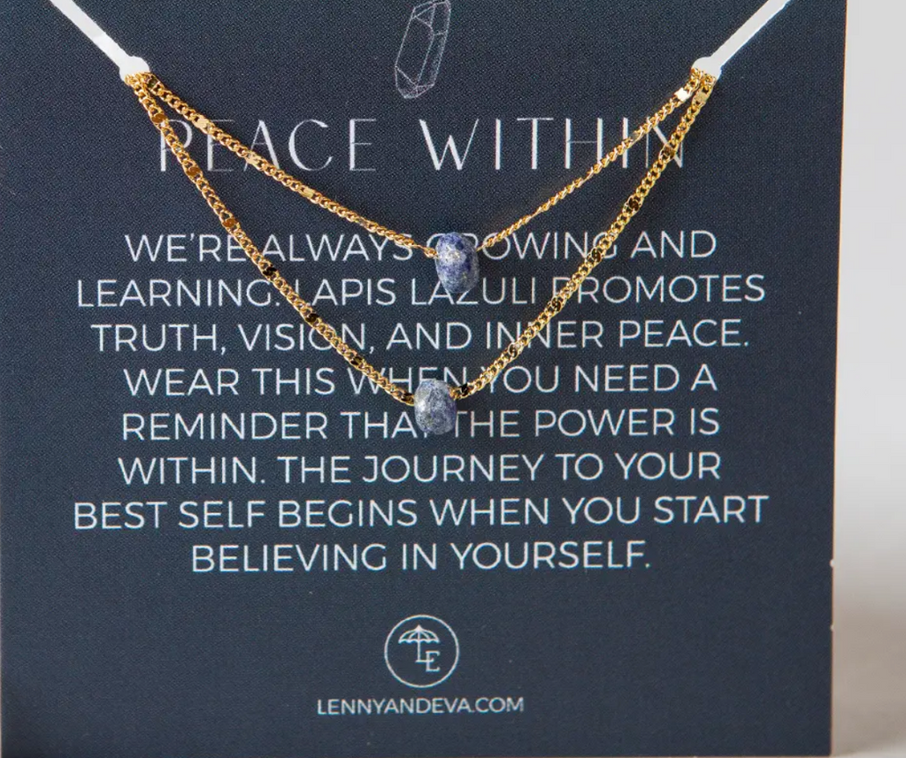 Peace Within Necklace