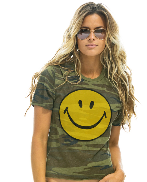 Big Smiley Boyfriend Tee