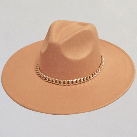 Gold Bold Chain Rancher Hat